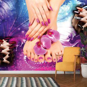 پوستر دیواری آرایشگاه زنانه کد mt-83739