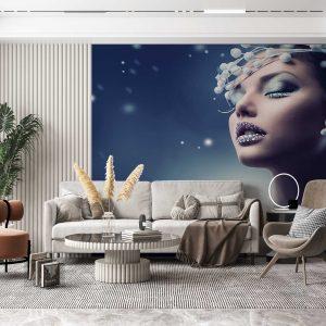 پوستر دیواری آرایشگاه زنانه کد mt-83745